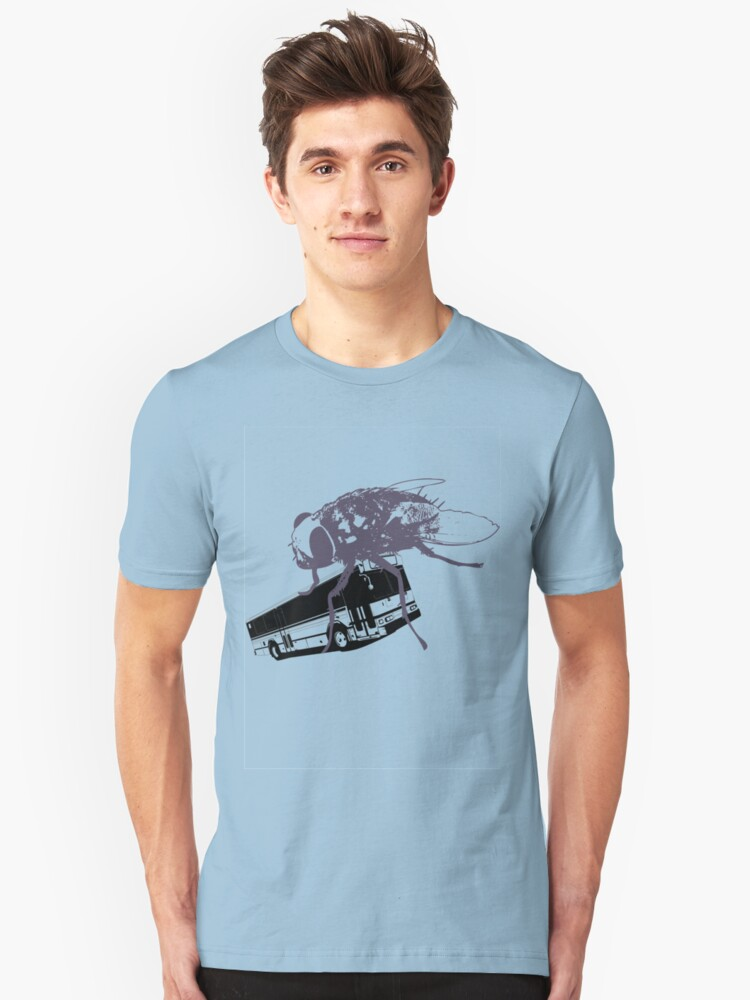 Fly Bus Unisex T-Shirt Front