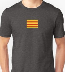 Catalonia Flag - Catalan T-Shirt Sticker Duvet T-Shirt