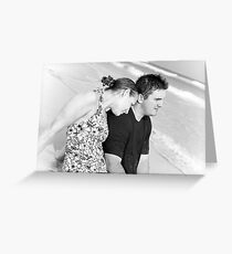 Couple by the Ocean Greeting Card