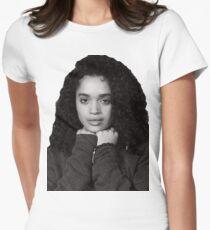 Cute Lisa Bonet Womens Fitted T-Shirt