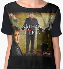Nathan Fillion Women's Chiffon Top