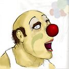 out of work clown by kgittoes