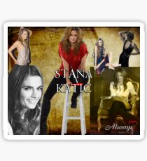 Stana Katic Sticker