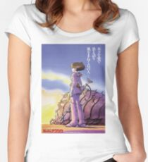 Nausicaä of the Valley of the Wind  Women's Fitted Scoop T-Shirt