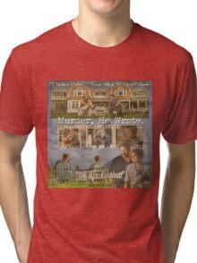 Castle - Murder, he wrote Tri-blend T-Shirt