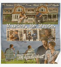 Castle - Murder, he wrote Poster