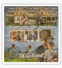 Castle - Murder, he wrote Sticker