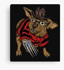 NIGHTMARE DOG Canvas Print