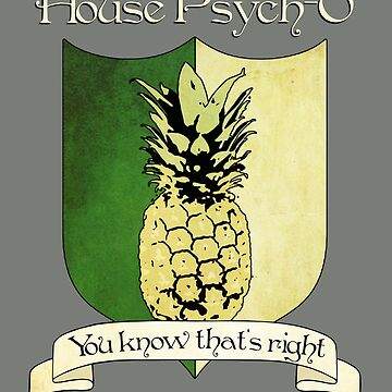 House Psych-O Crest by thistle9997