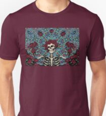 Grateful Dead -  Skeleton Roses Unisex T-Shirt