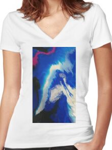 layer upon layer Women's Fitted V-Neck T-Shirt