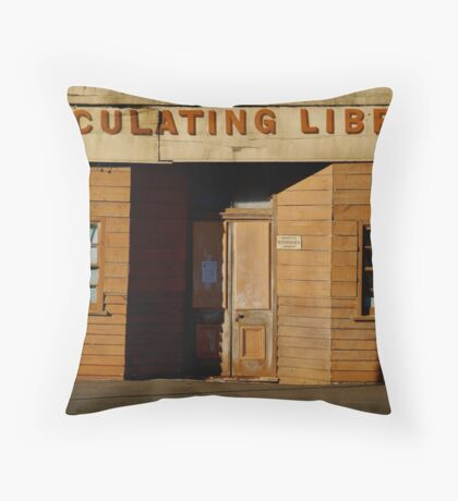 Clunes Circulating Library Throw Pillow