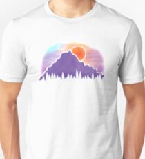 Mountain Silhouette Unisex T-Shirt