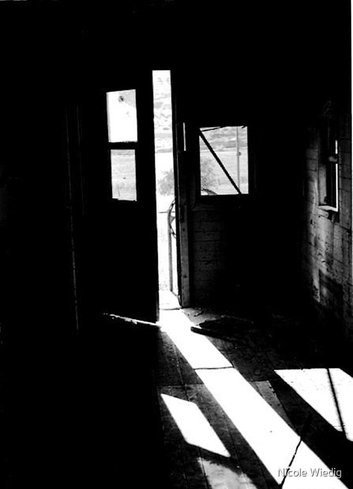 Train Door 1982 by Nicole Wiedig