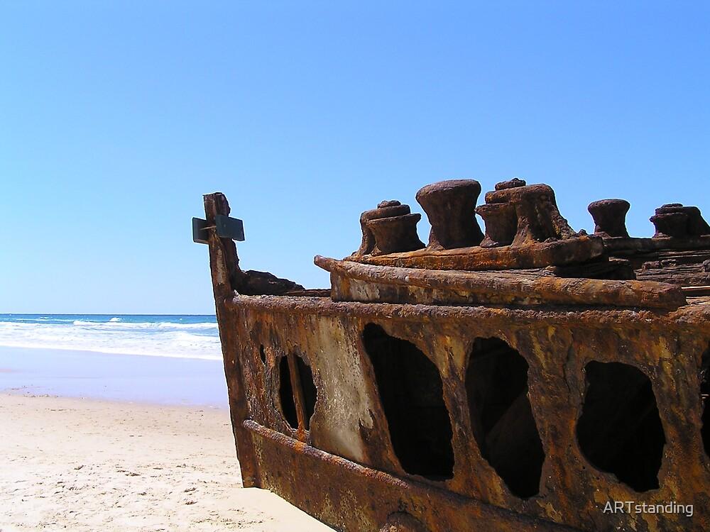 Maheno Wreck by ARTstanding