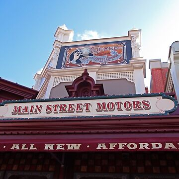 Main Street Motors by ashleeeyjayne