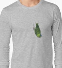 Male Green Pacific Parrotlet Long Sleeve T-Shirt