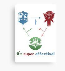 FOR HONOR - POKEMON - Super effective!!! Canvas Print