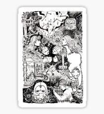 Ghost Quartet Sticker