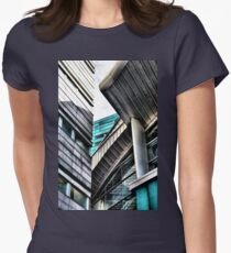 Palacio de los Deportes, Madrid. Women's Fitted T-Shirt