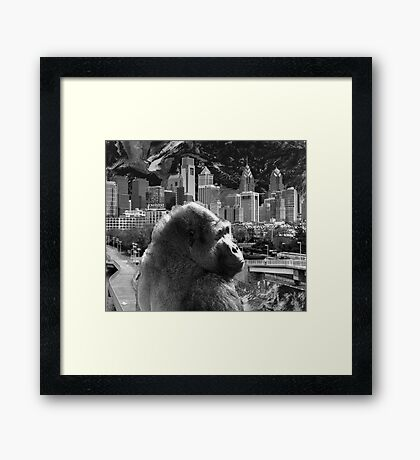 Changing Worlds Framed Print