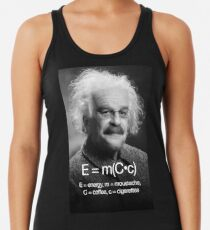 Energy = moustache (coffee * cigarettes) Women's Tank Top