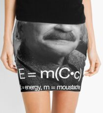 Energy = moustache (coffee * cigarettes) Mini Skirt