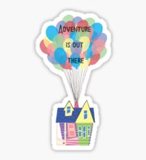Adventure is out there! Sticker