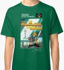 The Legend of Zelda: Triforce of the Gods - A Link to the Past - Japanese Box art Classic T-Shirt