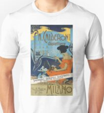 Vintage Italian Advertisement Poster - A. Calderoni Gioielliere (1898) Unisex T-Shirt