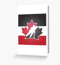 Team Canada Greeting Card