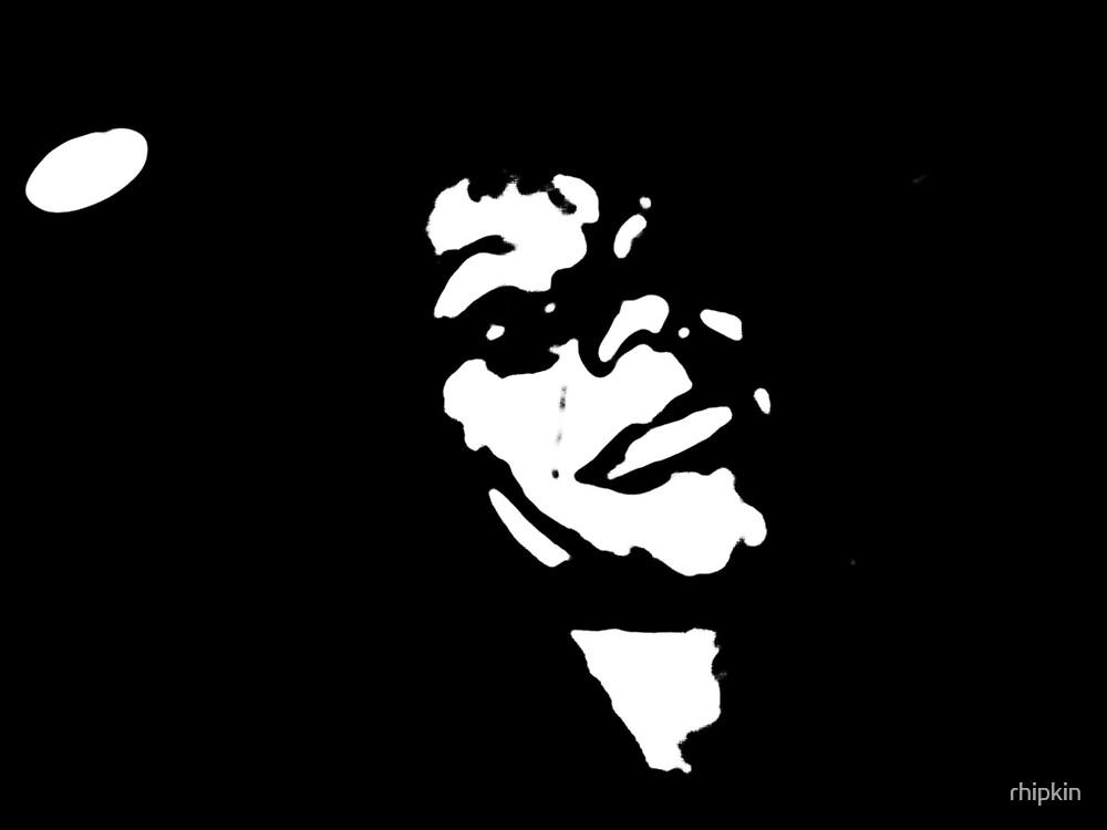 Face in the Dark by rhipkin