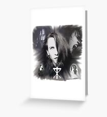 Rozz Williams Greeting Card