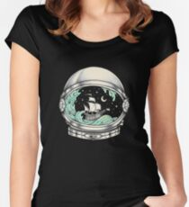 Spaceship Women's Fitted Scoop T-Shirt