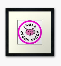 Zyggy Piggy - Bill and Ted Framed Print