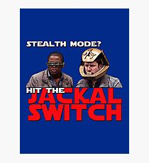 Hit the jackal switch! Photographic Print