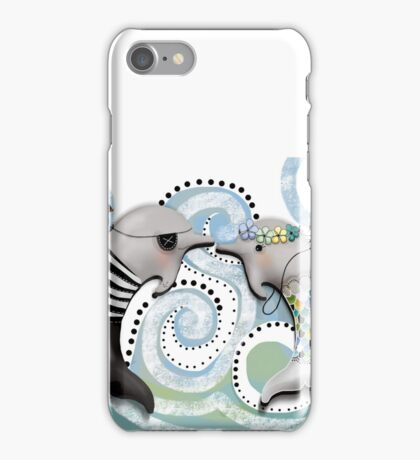 The Pirate and The Mermaid iPhone Case/Skin