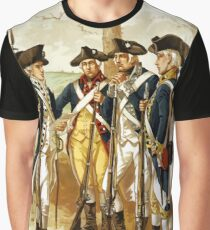 Infantry Of The Revolutionary War Graphic T-Shirt