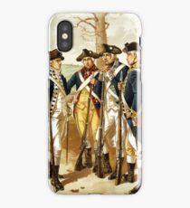 Infantry Of The Revolutionary War iPhone Case