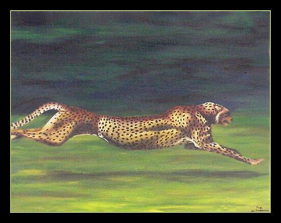 Cheetah by crackgerbal