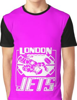 London Jets, white - Red Dwarf Graphic T-Shirt