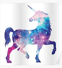 Cosmic unicorn Poster