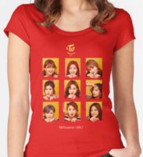 TWICE - TWICEcoaster Lane 2 Special Album Women's Fitted Scoop T-Shirt