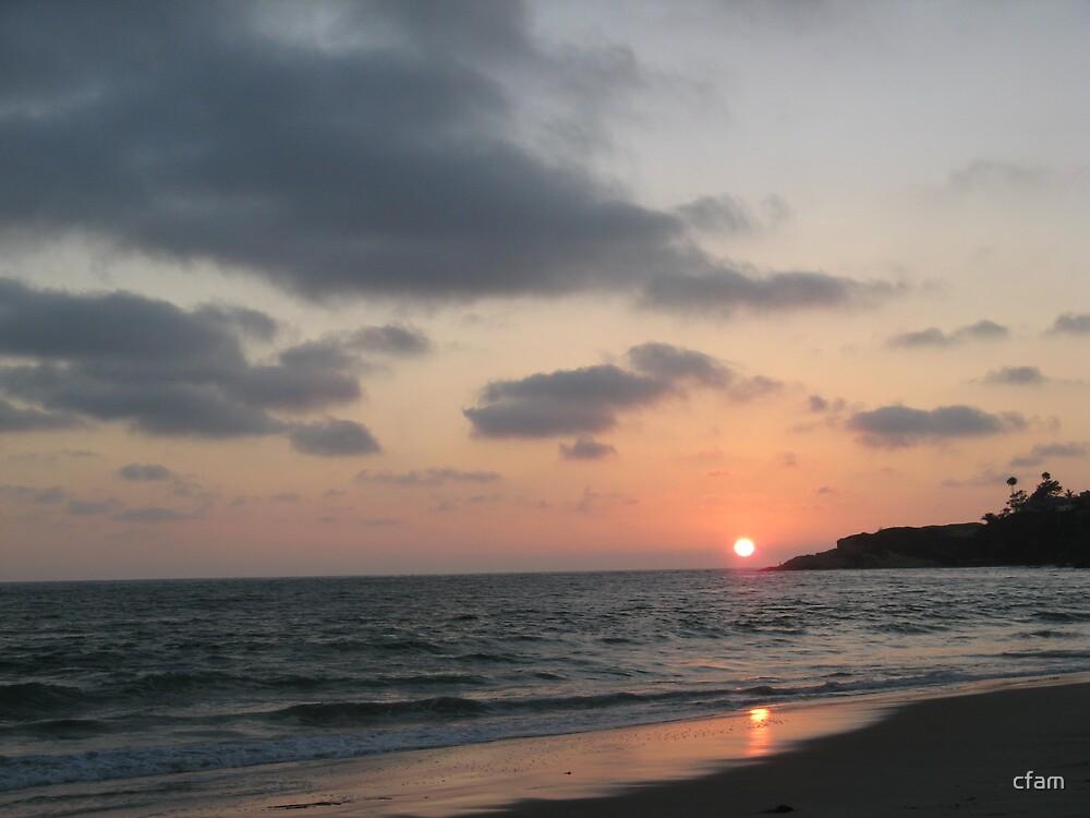 Beach Sunset 2 by cfam
