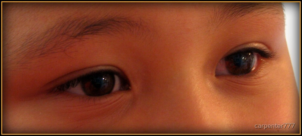 Childs eyes by carpenter777