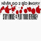 NEVER GO 2 BED ANGRY by TANYA WILLIAMS