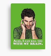 Shawn must use this power for good... Canvas Print