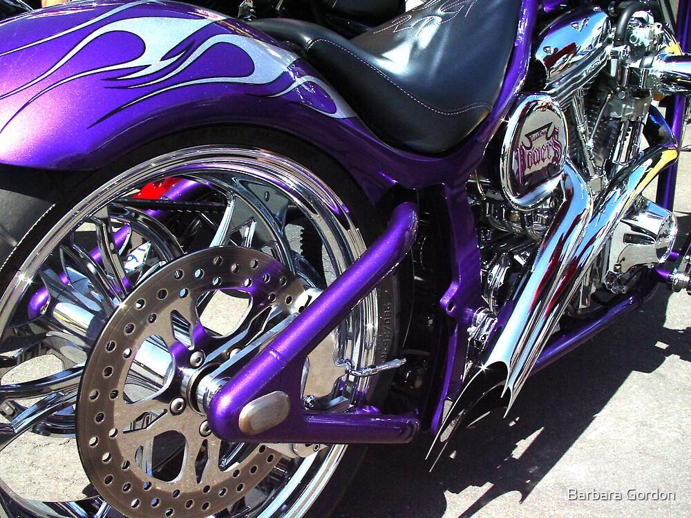 Quot Purple Chopper Quot By Barbara Gordon Redbubble