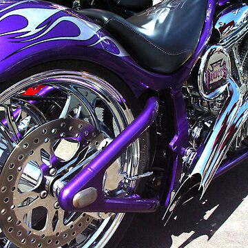 Purple Chopper by BGPhoto