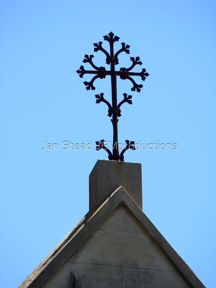 old & ornate sign of faith by Jan Stead JEMproductions